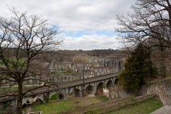Ruïnesklooster Abbey Villers la Ville, België royalty-vrije stock foto