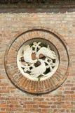 Ruïnetuin in Szekesfehervar, Hongarije stock afbeeldingen