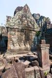 Ru?nes van de 12de Eeuw van Preah Khan Temple in Angkor Wat Siem Reap, Kambodja stock afbeelding