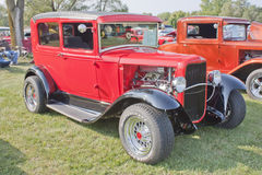 Rua 1930 de Ford Rod Imagens de Stock Royalty Free