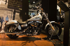 Rua 2010 de Harley Davidson Bob Foto de Stock Royalty Free