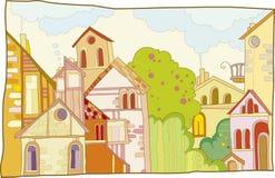 Rua ilustração royalty free