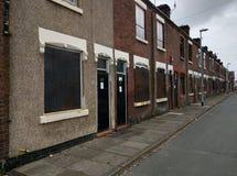 Rua abandonada Fotografia de Stock Royalty Free
