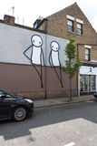 Rua Art London Fotografia de Stock