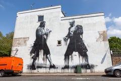 Rua Art London Foto de Stock Royalty Free