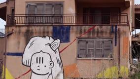 Rua Art Timelapse video estoque