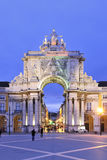 Rua Augusta Arch Royalty Free Stock Photo