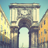 Rua Augusta arch Stock Photo