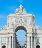 Rua Augusta Arch, Lisbon Stock Image