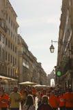 Rua Augusta in Lisbon Stock Image