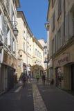 Rua Bédarrides, Aix-en-Provence, França Foto de Stock