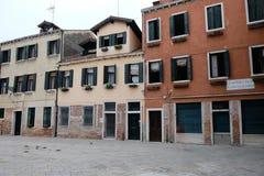 Rua bonita de Veneza Itália Viagem em Europa fotografia de stock