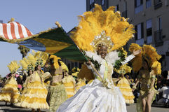 Rua brasileira Carnaval imagem de stock royalty free