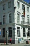 Rua Bruxelas Fotos de Stock