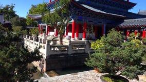 Rua cênico na cidade velha de Lijiang, província de Yunnan, China foto de stock