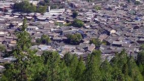 Rua cênico na cidade velha de Lijiang, província de Yunnan, China fotos de stock royalty free
