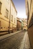 Rua catita Praga imagem de stock