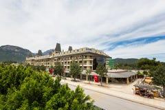 Rua central do Goynuk Fotos de Stock Royalty Free