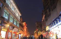Rua China de Hutong do Pequim imagens de stock royalty free