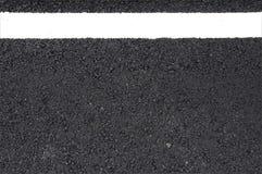 Rua com linha branca Foto de Stock Royalty Free
