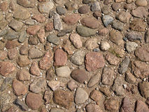 Rua com pedra Imagem de Stock
