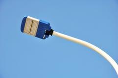 A rua conduziu a lâmpada Imagem de Stock