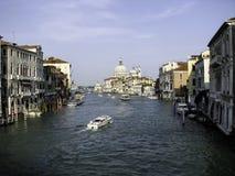 Rua da água em Veneza Imagem de Stock
