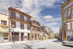 Rua da Boa Hora. Porto, Portugal stock images
