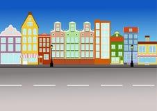 Rua da cidade Foto de Stock Royalty Free