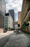 Rua da cidade de Houston Foto de Stock