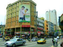 Rua da cidade de Malásia Kuala Lumpur Imagens de Stock