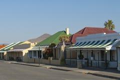 Rua da cidade do Karoo fotos de stock