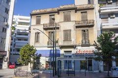 Rua da cidade em Atenas Imagem de Stock Royalty Free