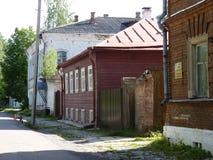 A rua da cidade velha Imagem de Stock