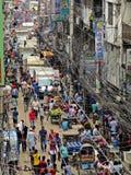 rua da cidade velha, Dhaka, Bangladesh foto de stock royalty free