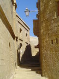 Rua da citadela em Victoria, Gozo Imagem de Stock Royalty Free