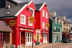 Rua da costa dingle ireland Imagens de Stock Royalty Free