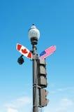 Rua da interseção Foto de Stock Royalty Free