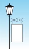 Rua da lâmpada Imagens de Stock