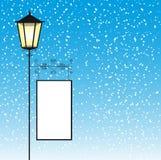 Rua da lâmpada Imagem de Stock
