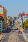 Rua da maneira de Poltava Imagens de Stock