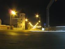 Rua da noite imagem de stock