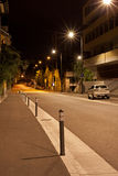 Rua da noite Fotos de Stock Royalty Free