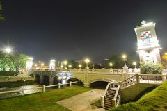 Rua da noite Foto de Stock Royalty Free