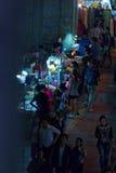 Rua da noite Imagens de Stock