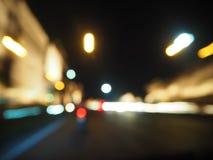 Rua da noite em Tianjin Foto de Stock