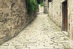 Rua da pedra Foto de Stock Royalty Free