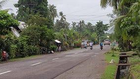 Rua da província Fotografia de Stock