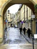 Rua da rainha, banho, Somerset. Imagem de Stock Royalty Free