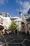 Rua da rainha de Auckland Foto de Stock Royalty Free